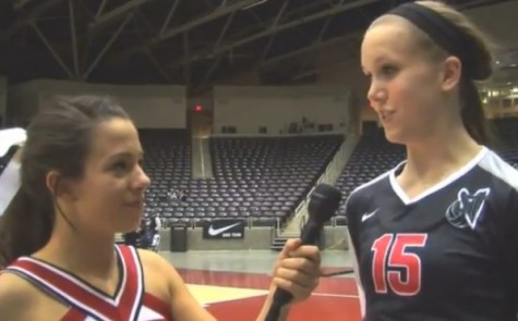 Postgame video from Friday's volleyball semifinals