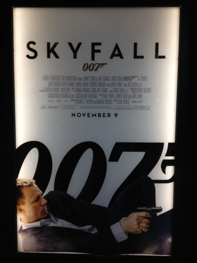 Daniel Craig returns as 007 today in Skyfall.