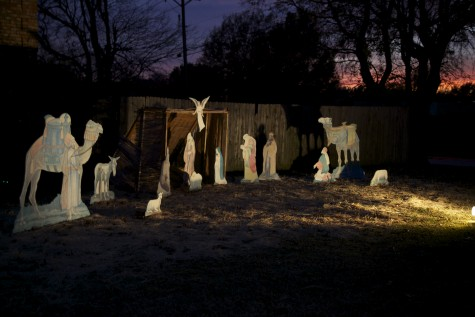 Annual nativity shown at St. Ann Catholic Parish
