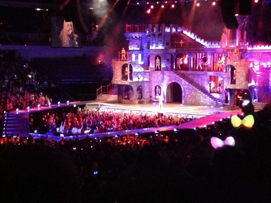 Lady Gaga embraces little monsters of Dallas