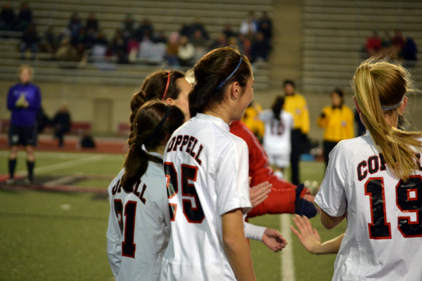 Cowgirls soccer team defeats Colleyville Heritage on home turf