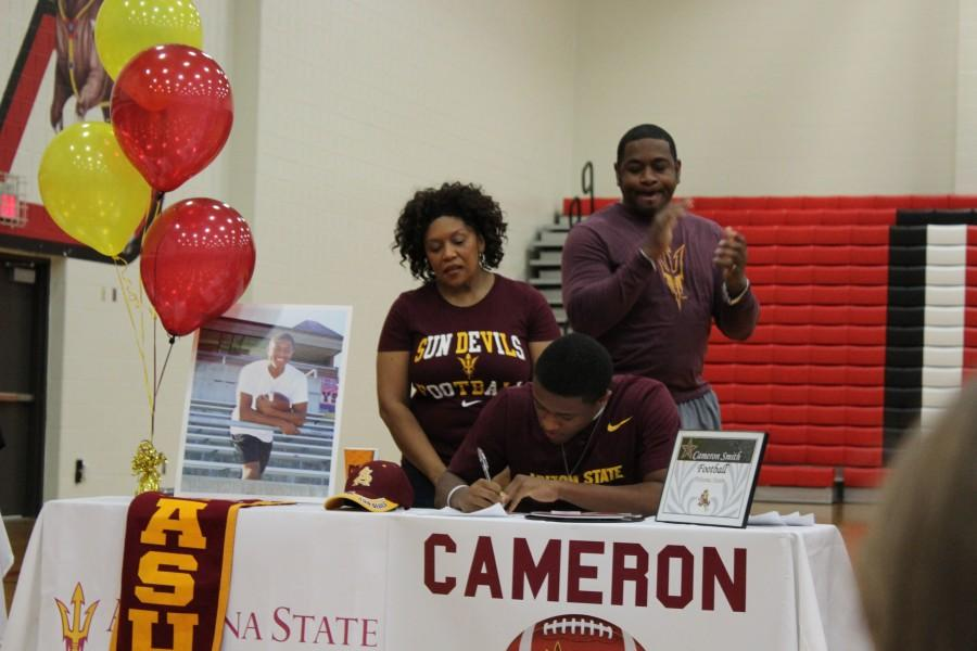 Athletes commit in ink, make college plans permanent
