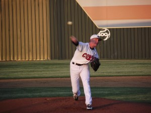 Elliott pitches Cowboys past Marauders, 2-0, in 5-5A duel