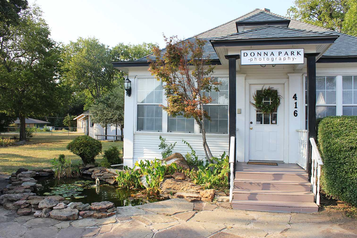 Donna Park's photography studio holds its grand opening Saturday. The studio was yet another addition to the revival of Old Town Coppell. Photo by Nicole Messer.