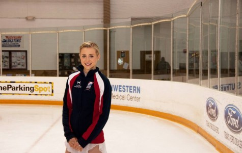 Cain trains for figure skating Winter Olympic qualifiers