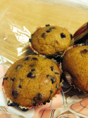 Pumpkin chocolate chip muffins add festive spice for fall season
