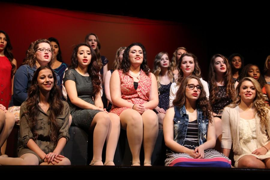 Respira girls captivate audience with singing, dancing at Annual Dessert Show