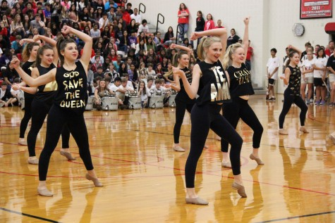 Photo Gallery: Last pep rally of the season honors seniors