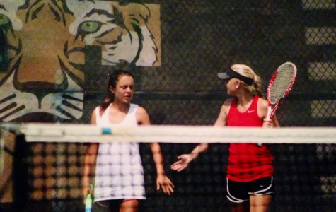 Stone returns for second year on varsity tennis
