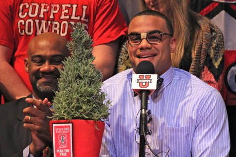 "Thomas makes top football programs ""Fear the Tree"" on Signing Day"