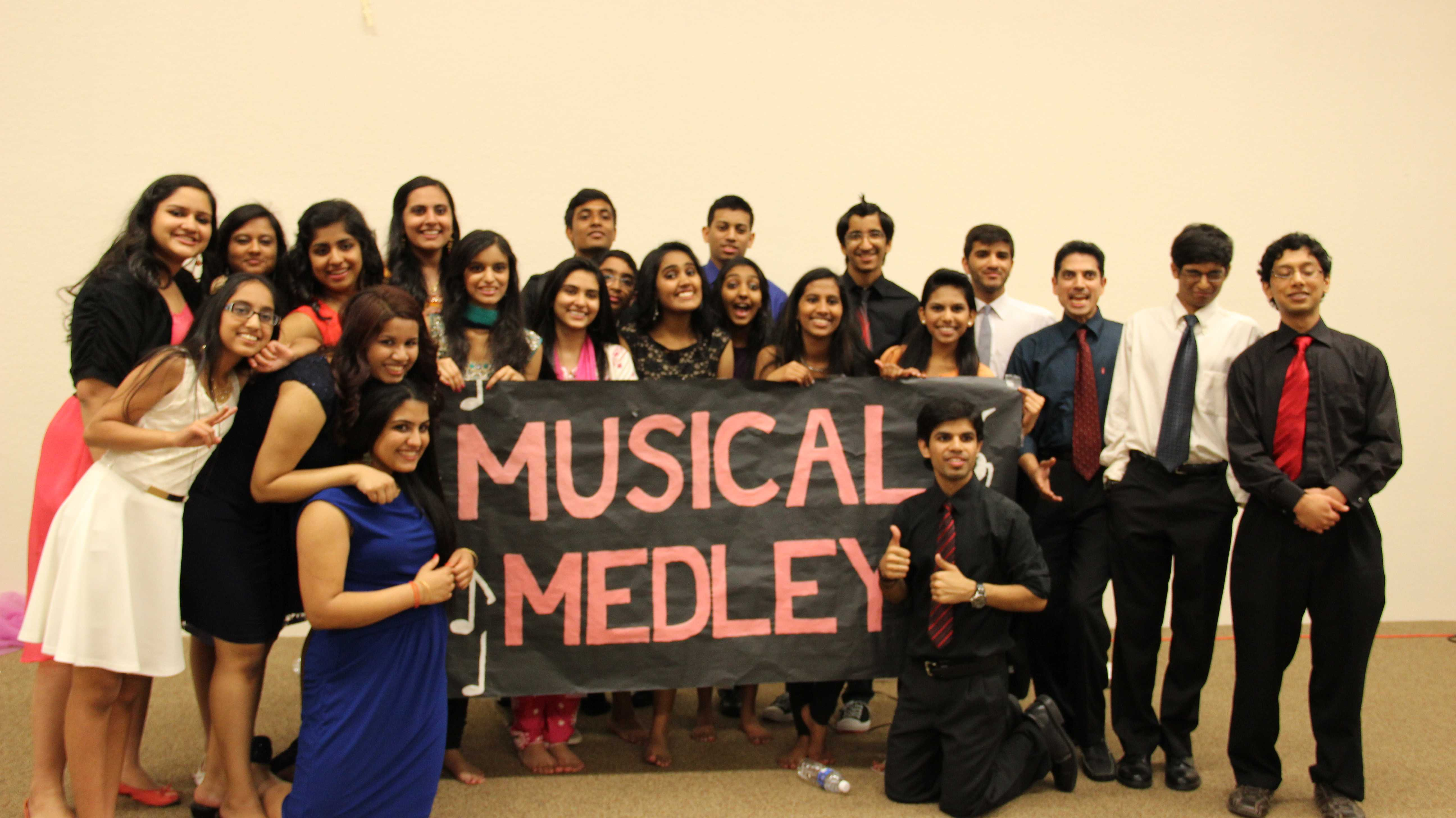 Musical Medley performers. Photo by Pranathi Chitta.