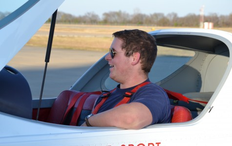Shafer takes to sky in pursuit of pilot's license