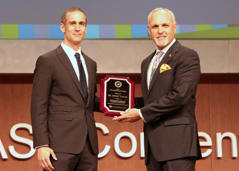 Shortly after receiving Key Communicator Award, Turner announces plan to retire