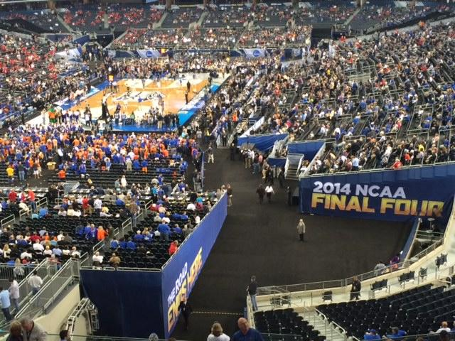 Coppell+High+School+senior+John+Loop+attended+the+2014+NCAA+Men%27s+Basketball+Final+Four+on+April+5-7+at+AT%26T+Stadium+in+Arlington.+Photo+by+John+Loop