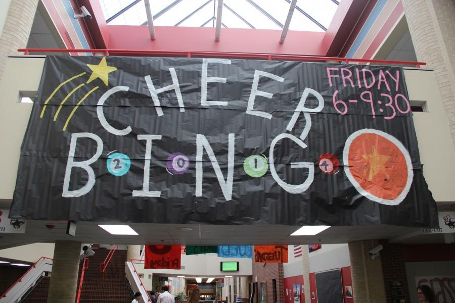 As in years past, Cheer Bingo Night hopes to provide another enjoyable and fun atmosphere for the kid in all of us. Photo by Mallorie Munoz.