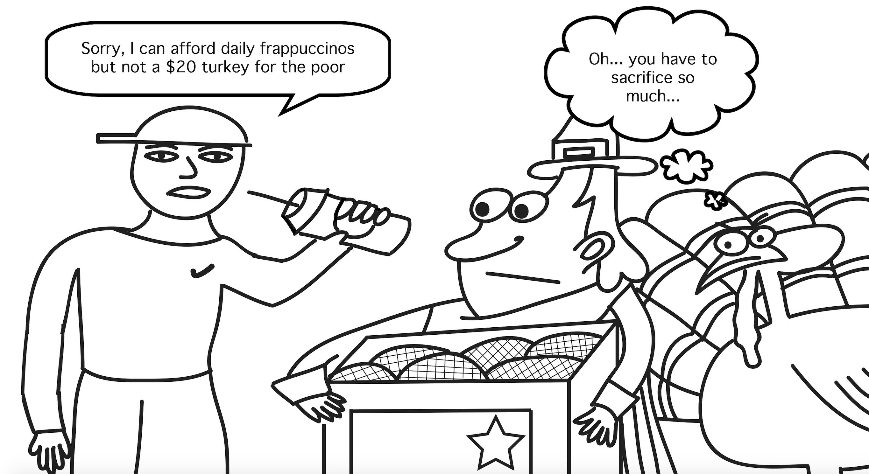 Political Cartoon by Jena Seidemann.