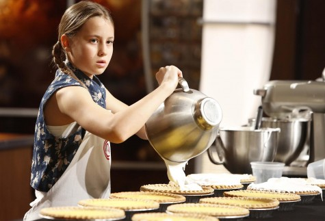 "MASTERCHEF: Contestant Ryan Kate in the ""Junior Edition: Easy As Pie"" episode of MASTERCHEF airing Tuesday, Jan. 13 (8:00-9:00PM ET/PT) on FOX. CR: Greg Gayne / FOX. © FOX Broadcasting Co."