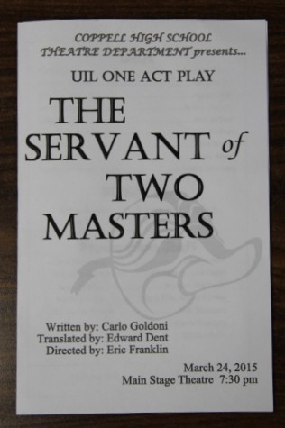 "Last night, the Coppell Theatre Department performed the play ""The Servant of Two Masters"" in preparation for their UIL Competition this Saturday, March 28. Photo by Sarah VanderPol."