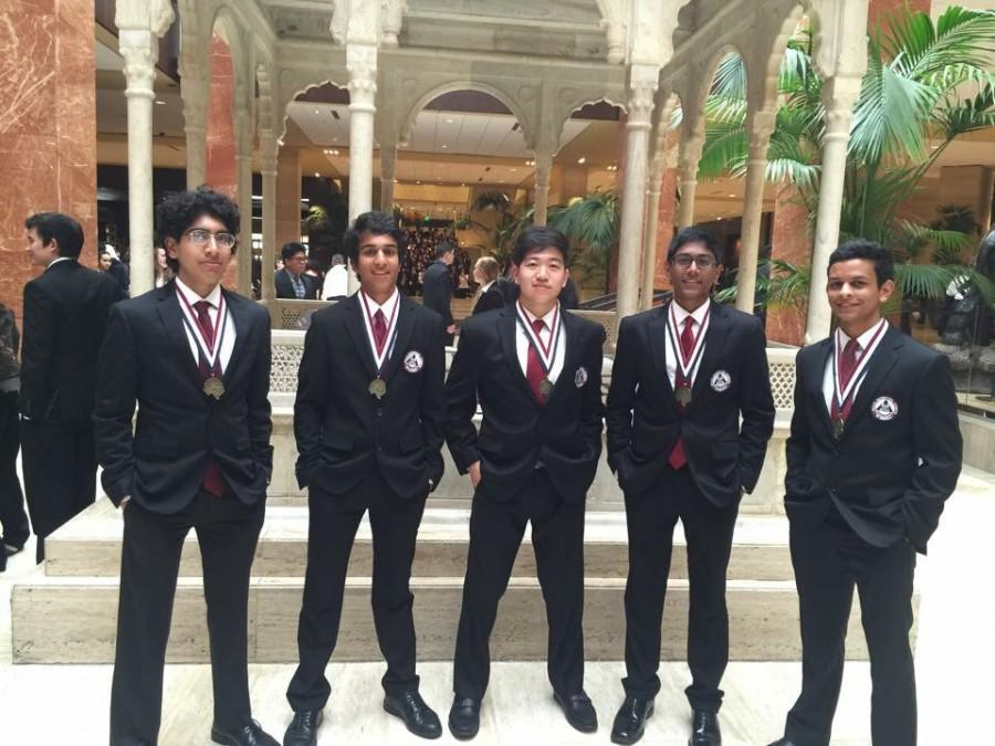 HOSA club team takes first place at state, club advances to nationals