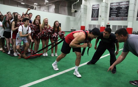 Athletes face pressure on, off the field
