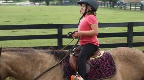 A gentle spirit: Horse therapy providing countless benefits for Coppell 2nd grader