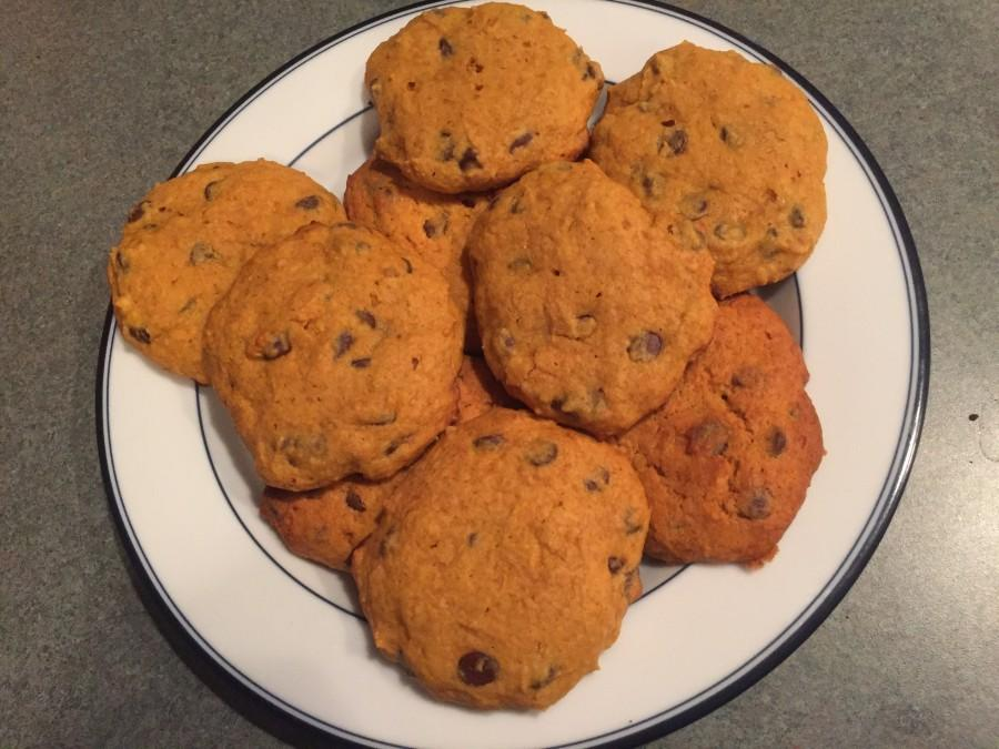 Pumpkin chocolate chip cookies that will