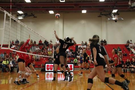 Q&A: 3 Freshman shine on varsity volleyball