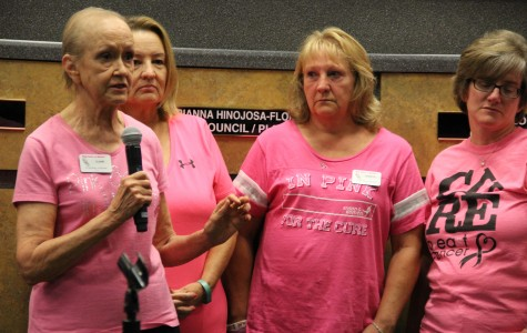 City Council meeting ushers in Red Ribbon Week and Breast Cancer Awareness Month
