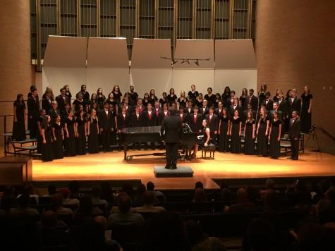 Coppell High School A Cappella performs at UT Arlington