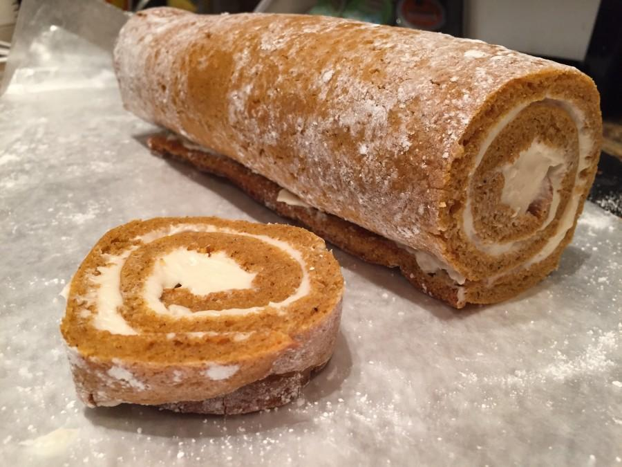 """Roll"" into the holidays with Pumpkin Rolls"