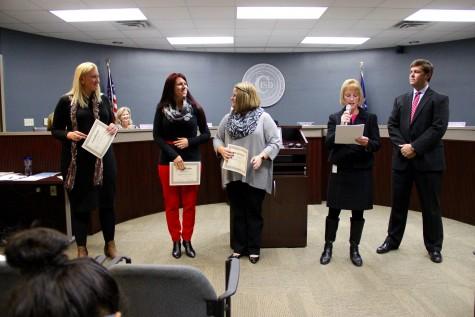 Board of Education meeting presents awards, international field trips