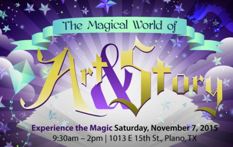 The Magical World of Art and Story to showcase local children's book authors and illustrators