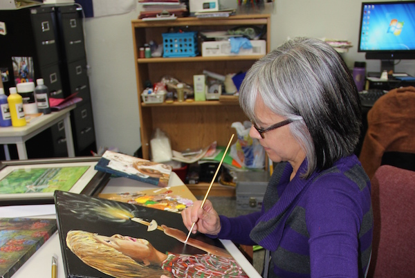 Arndt's passion for art integrates into teaching career