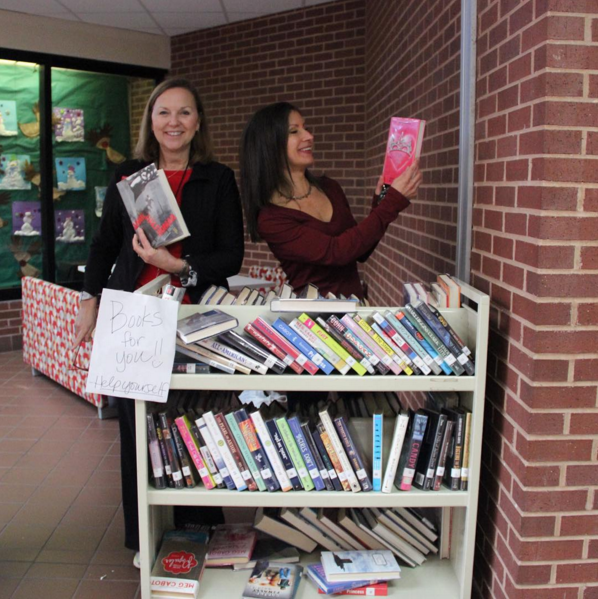 """""""It is part of our professional obligations to weed out the books that are not used as much, the ones that look kind of old, or the duplicates,"""" Coppell High School librarian Lynn Hevron says. """"We like to keep our books new and updated so that students can come and sift through books that they want to read,"""" Coppell High School librarian Jennifer Sullivan says."""