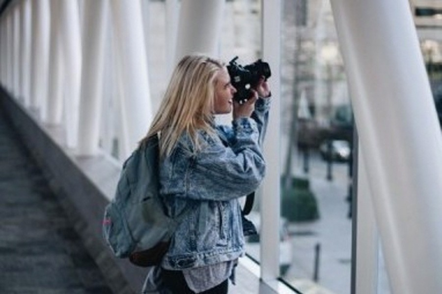 Ginnell expresses individuality through photography