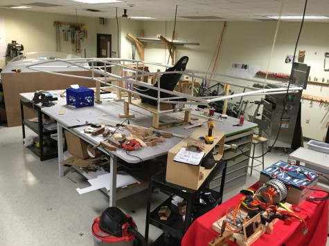 "Coppell High School's solar car team starts the construction of ""Outlaw,"" which will hopefully be finished before the next race. This year, club members will be driving their ""Outlaw"" from Texas Motor Speedway to Minneapolis over the course of the six day race."