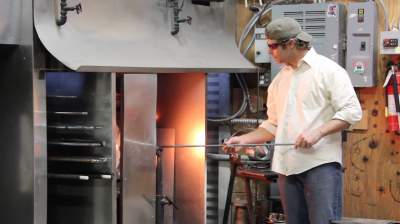 Glassblowing business in Grapevine