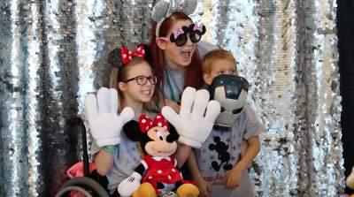 Children in Kidds Kids program take a trip to Disneyworld
