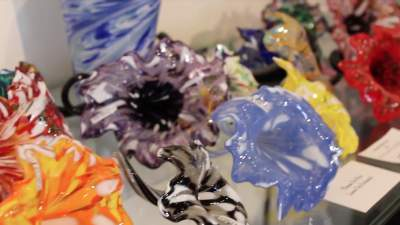 Glassblowing gifts are trending for Valentine's Day