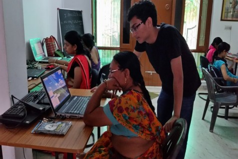 Jain creates computer labs in India, attracts many people