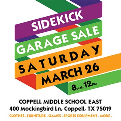 The Sidekick to hold garage sale this Saturday