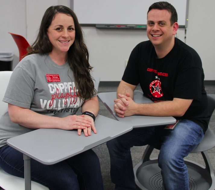 Coppell High School power couple; Mr. and Mrs. Caussey (Q&A)