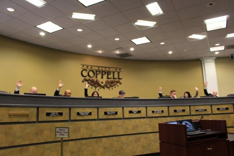 City Council makes way for the guests of Coppell