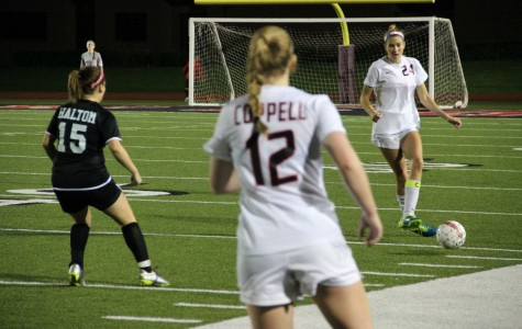 Cowgirl seniors score five of 12 goals in rout of Haltom