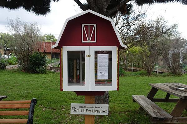 "A Tale of Two Libraries: Hudson, Tindall set up ""little free libraries"