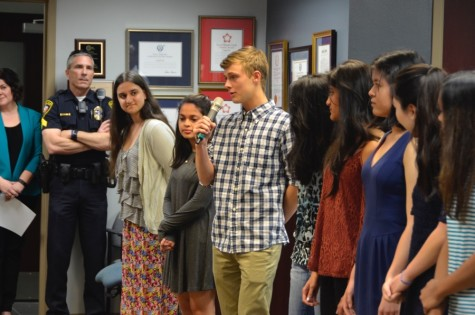 Bittersweet moment for recognized senior scholars, athletes at board meeting