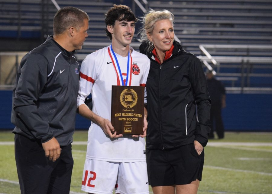 Bohn caps undefeated season, high school career with MVP honors
