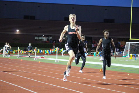 Coppell sweeps district track meet titles, capping it off with a thrilling finish.
