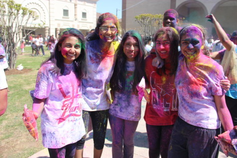 Chitta experiences colorful Holi, reflects on cultural event with friends