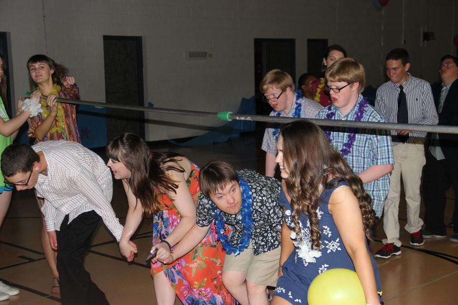 Common misconception dispelled, students come together for school dance